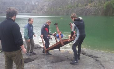 Beach clean up Nentmannsdorf